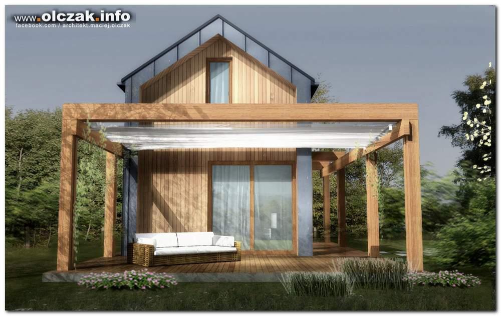 architekt maciej olczak projekt odmu na wakacje. Black Bedroom Furniture Sets. Home Design Ideas