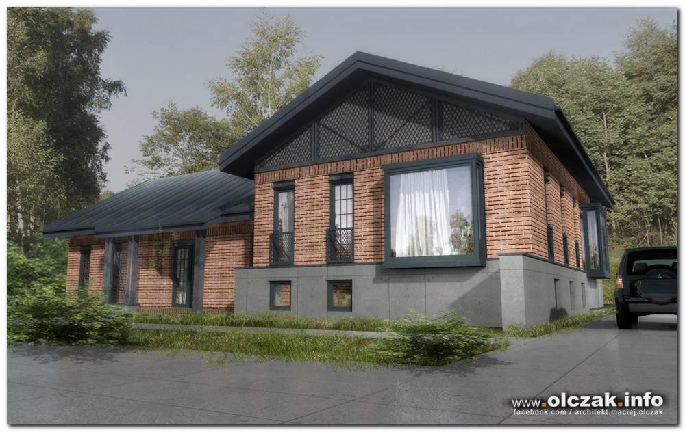 Architekt Maciej Olczak Projekty Domow