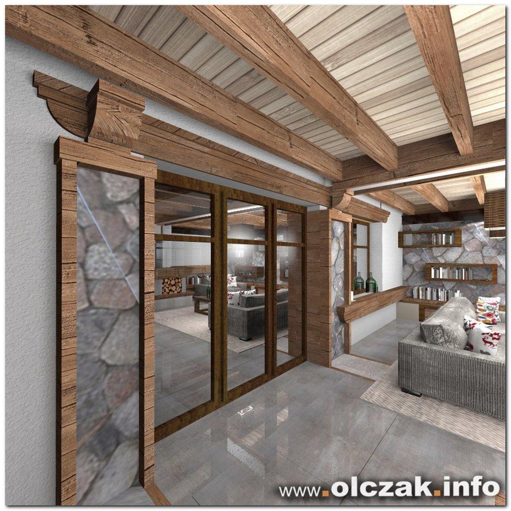 Architekt Maciej Olczak Dom Alpejsko Mazurski