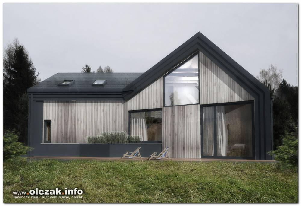 Architekt Maciej Olczak Dom Pod Lasem