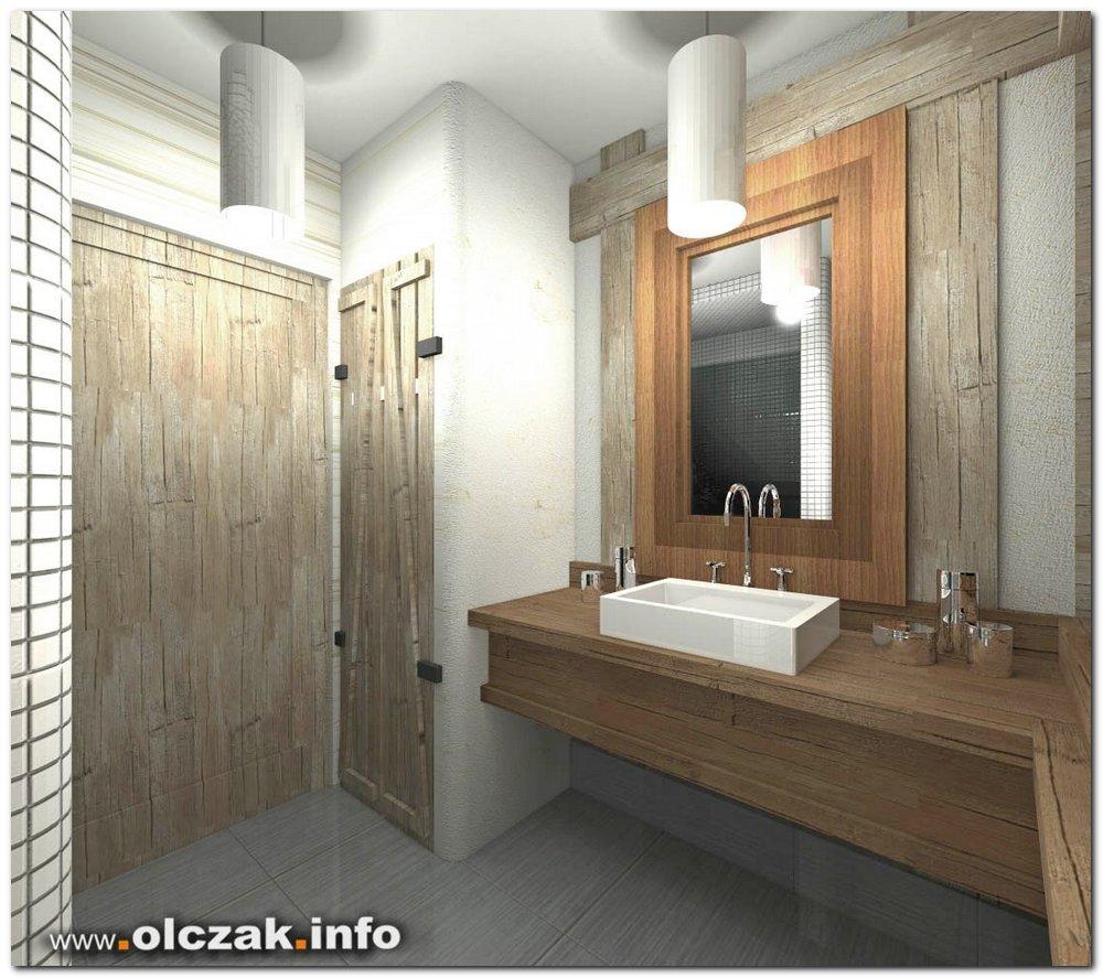 Architekt Maciej Olczak Rustykalny Dom Wiejski