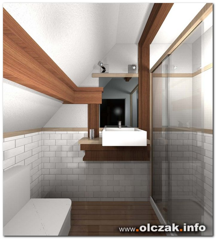 Architekt Maciej Olczak - rustykalny dom wiejski