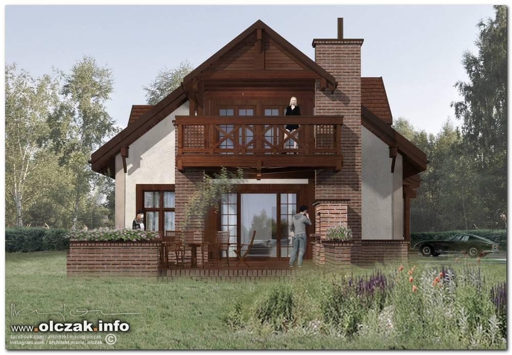 Architekt Maciej Olczak Klasyczny Dom Wiejski