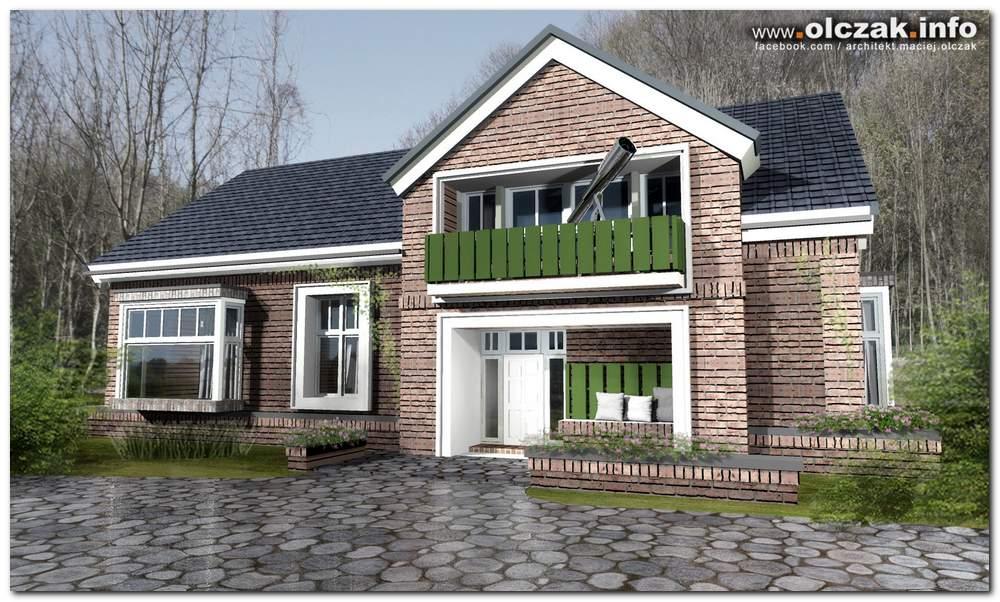 Architekt Maciej Olczak Dom W Stylu Holenderskim