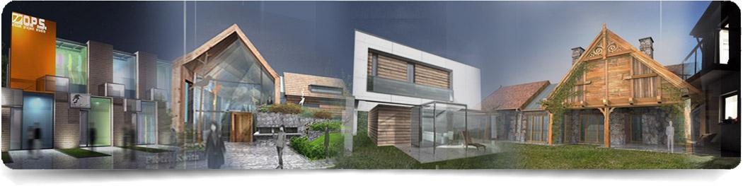 Góra Architekt Maciej Olczak - dom prowansalski MX25