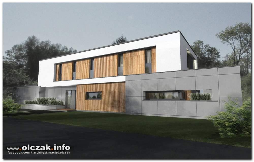 Inne rodzaje Architekt Maciej Olczak - nowoczesna rezydencja BL44