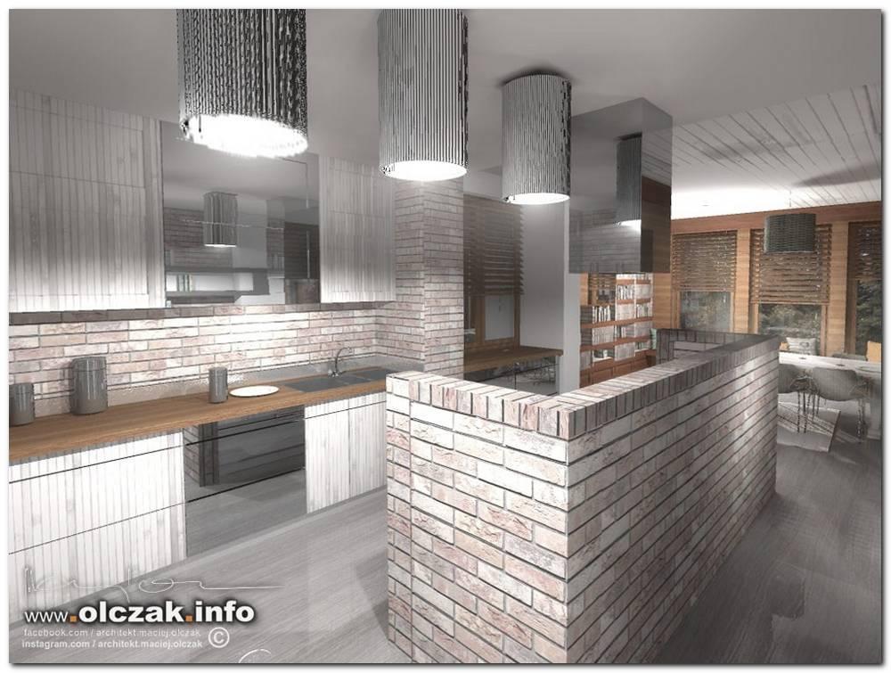 Architekt Maciej Olczak Projekt Wnetrz Domu